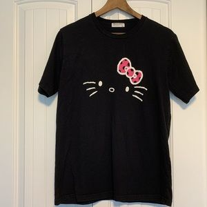 Cute Hello Kitty Black T-Shirt from Japan (large)